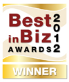 Best in Biz Awards gold 2012