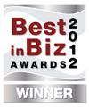Best in Biz Awards silver 2012