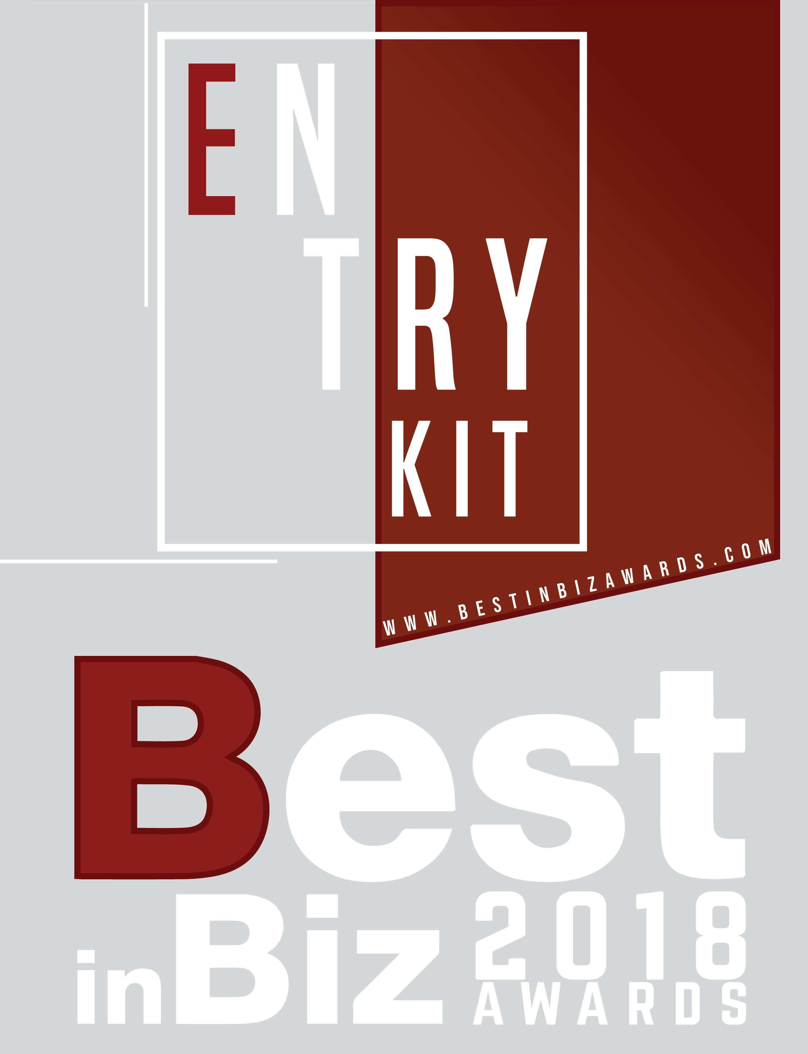 entry kit best in biz awards
